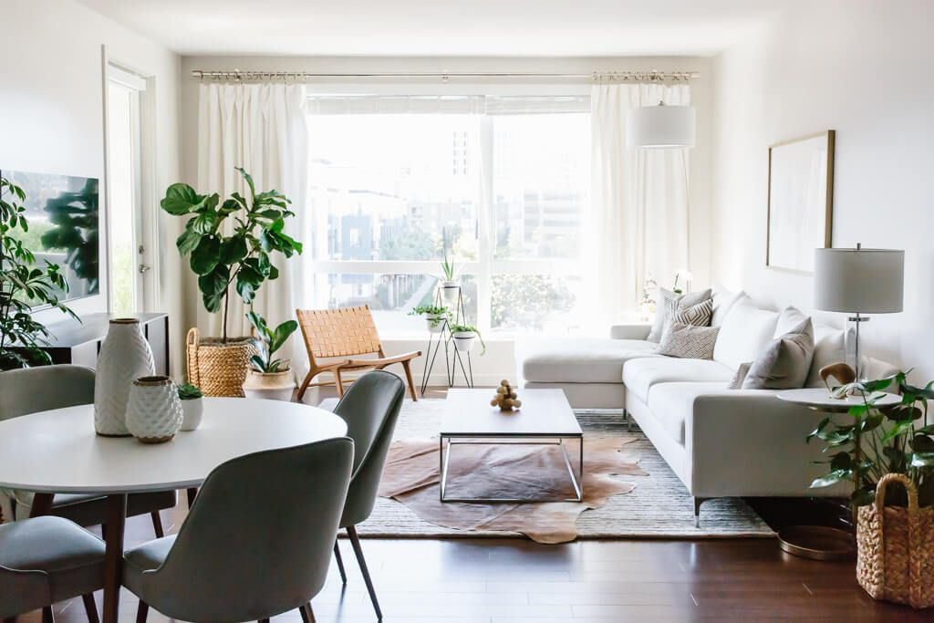 Designing my modern and minimalist living room with havenly downshiftology