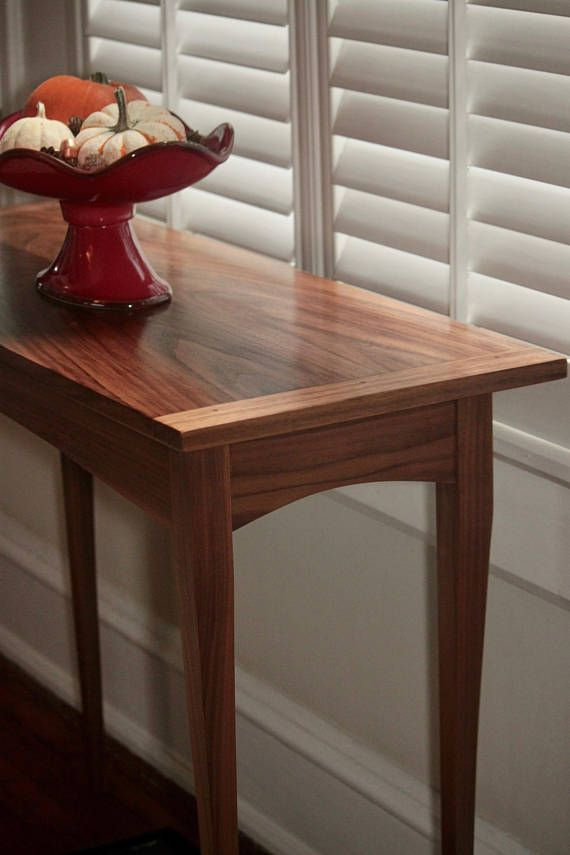 New Long Thin Hall Table