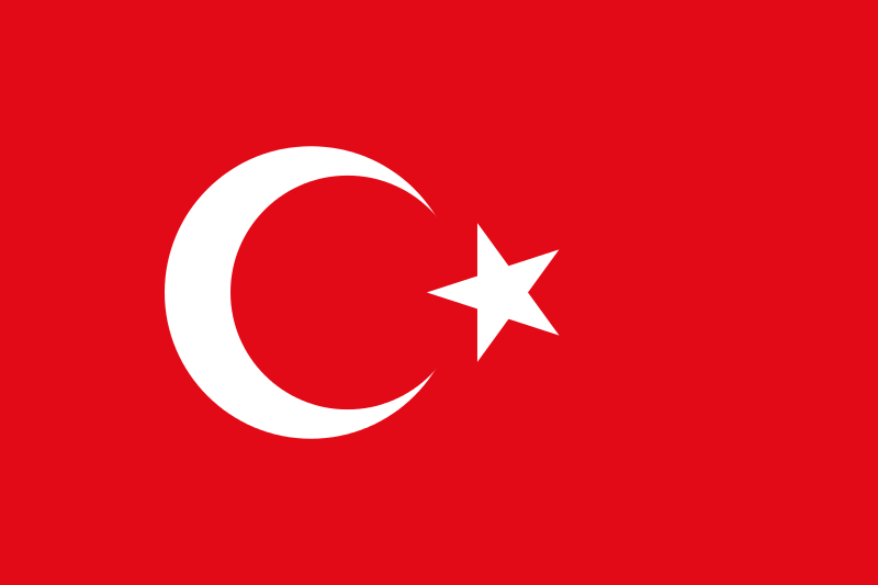 turkey capital ankara official language turkish government republic currency turkish lira driving right religion islam flag red time of war and