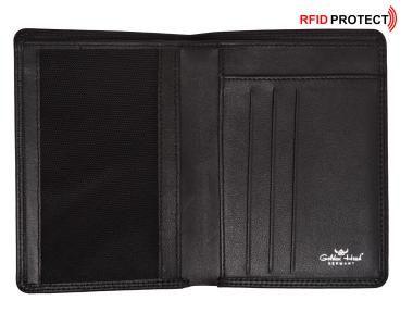 d4c9dcb94dff0 Golden Head Polo RFID Protect Ausweisetui schwarz Scheinfach - Bags   more