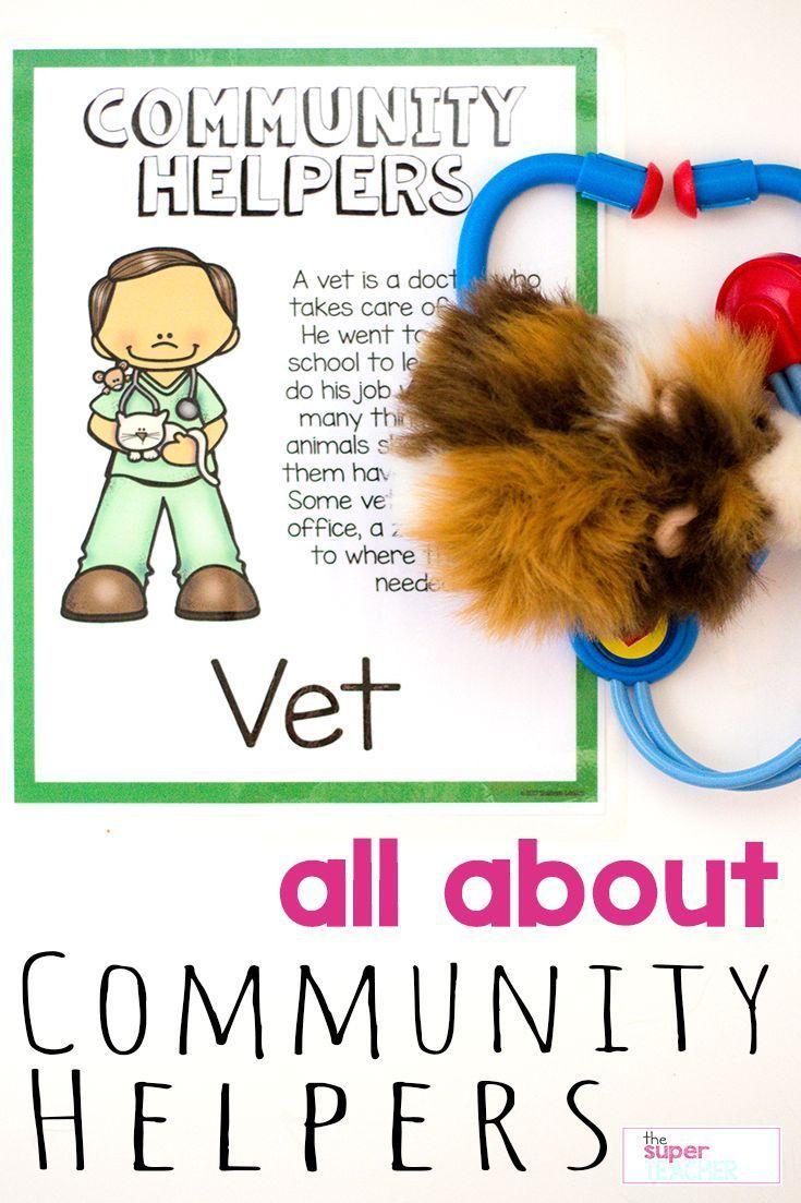 Community Helpers Unit For Preschool And Kindergarten Community