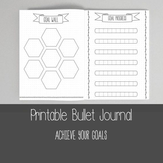 Bullet Journal Bundle Template Collection - Printable BUJO | Weekly ...