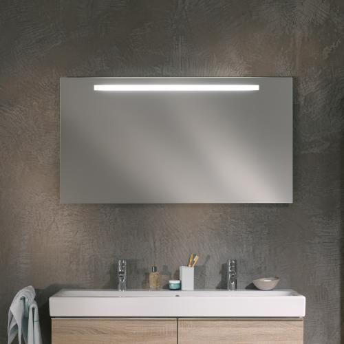 Keramag Option Spiegel mit LED-Beleuchtung badchic Pinterest - spiegel badezimmer mit beleuchtung