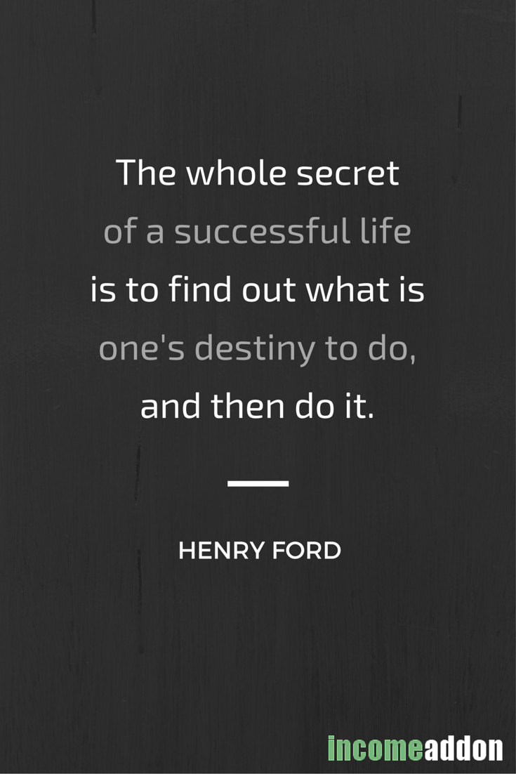 "Successful Life Quote Success Motivation Quotes ""the Whole Secret Of A Successful Life"
