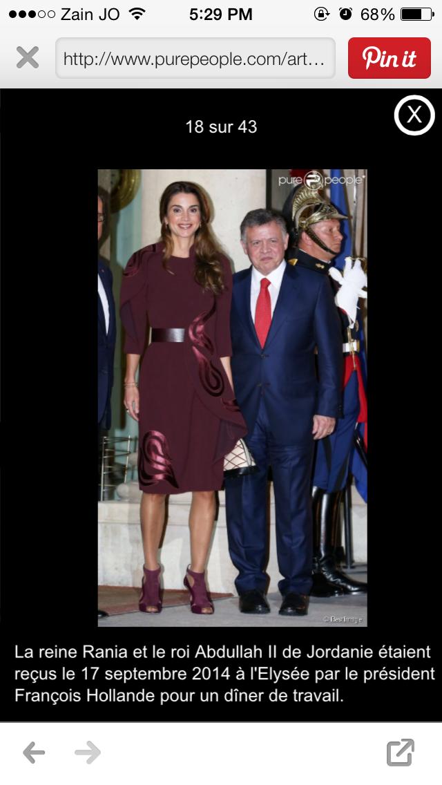 Pin by Reno on Queen Rania Queen rania, Queen, King abdullah