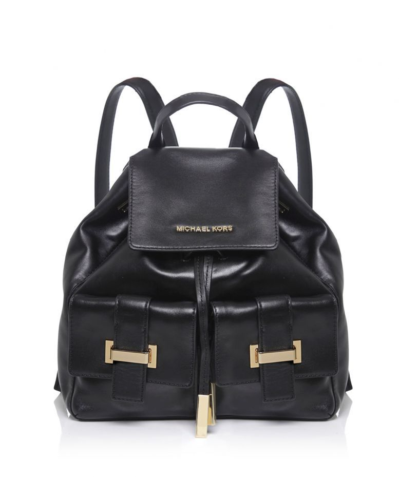 aa7f1766efb7 MICHAEL Michael Kors Marley Drawstring Leather Backpack