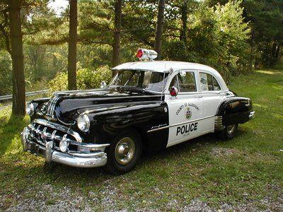 1950 Pontiac cruiser squadcar patrol car police car squad car ...