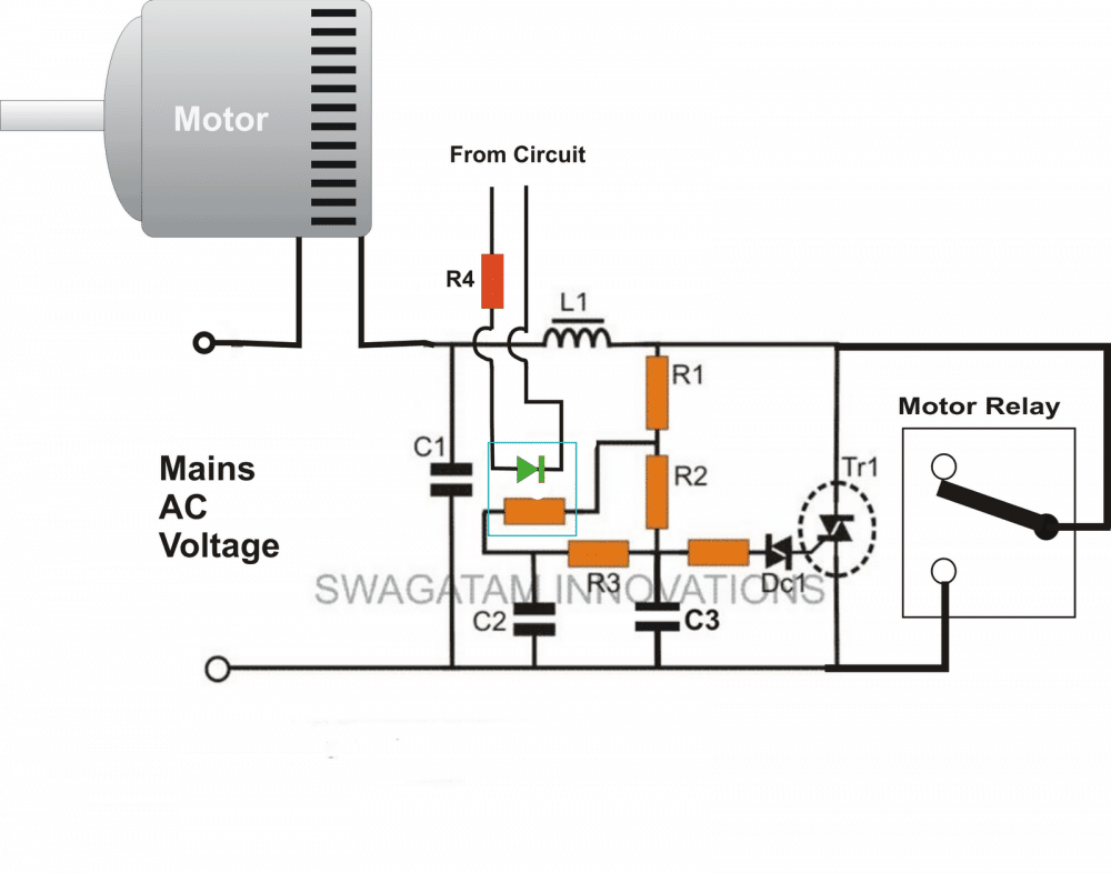 Adding A Soft Start To Water Pump Motors Reducing Relay Burning Problems Homemade Circuit Pro Water Pump Motor Circuit Projects Electronic Circuit Projects
