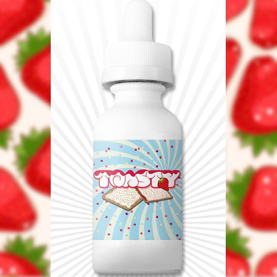 #GetHyped! Toasty is poppin' soon!  #Toasty: A tasty strawberry filled toaster pastry topped off with a sweet & delicious cream frosting. We invite YOU to come follow our newest line @Vapesnacks and take part in our 50 bottle giveaway contest for your chance to win a FREE bottle as soon as we launch! #vapesnacks #snacktime  www.juicyohms.com  #vape #juicyohms #vape #vapelyfe #calivapers #vapedaily #westcoastvapers #socalvapers #vapefam #vapestars #stopsmoking #vapeinstead #vapeporn…