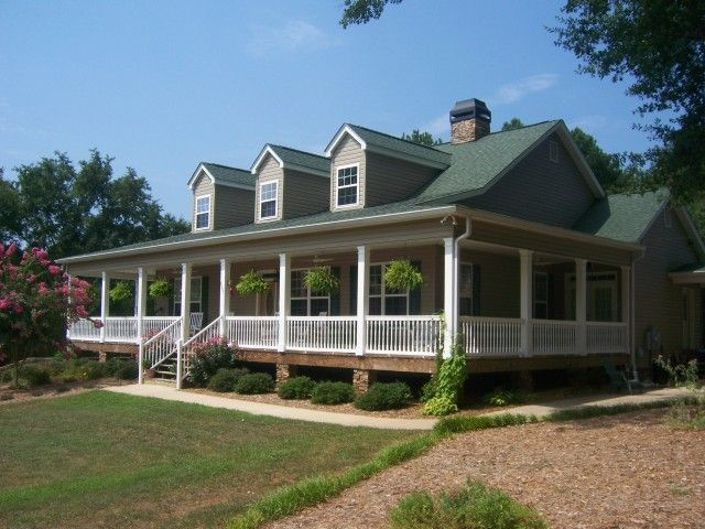 Homes With Wrap Around Porches What You Can Get Forsyth County 450k 500k The North Group Blog Farm House For Sale House With Porch Wrap Around Porch