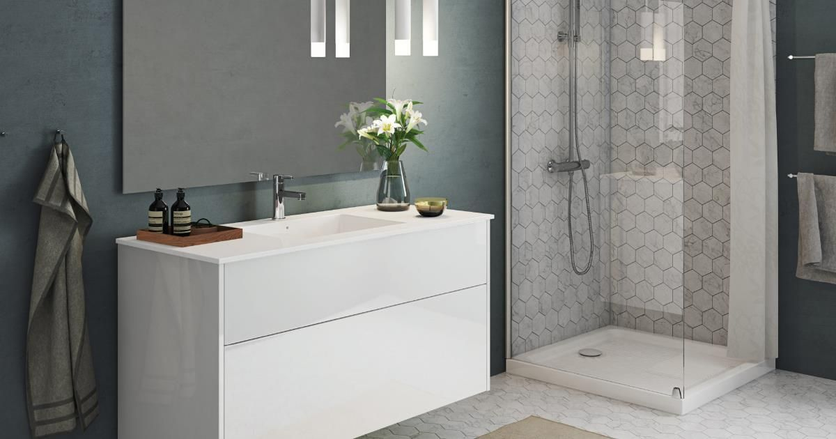 Senti gloss welkom aan de minimalistische badkamer badkamer pinterest bathroom toilets - Badkamer retro chic ...