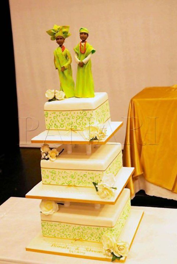 Nigerian Traditional Wedding Cakes For Weddings In Nigeria