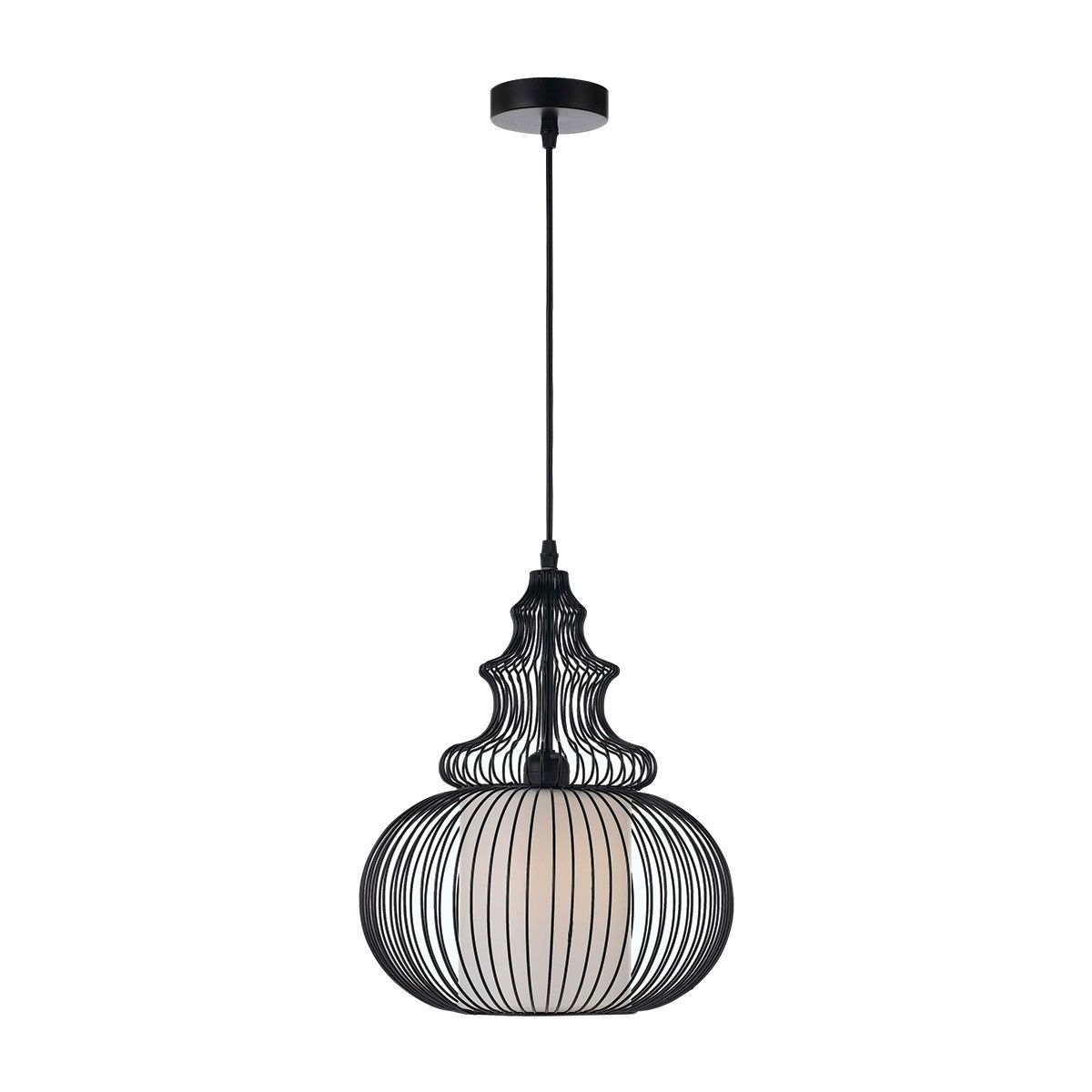 Buy Oriel Lightings Maison 3 Light Pendant - OL69321BK