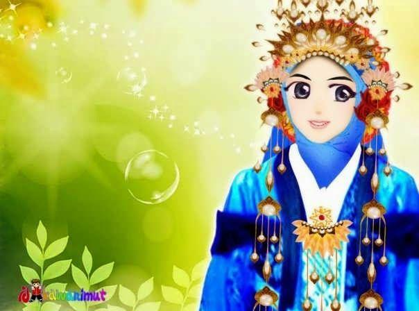 kumpulan gambar kartun muslimah gambar kartun muslimah kartun islami