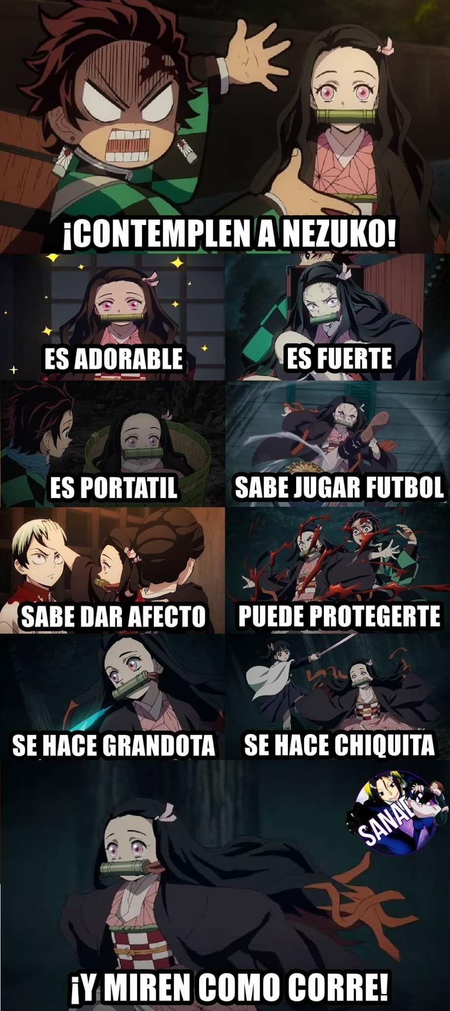 Anime Kimetsu no Yaiba! Memes de anime, Memes