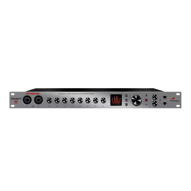 Antelope Audio Discrete 8 Preamp Interface With Images Audio