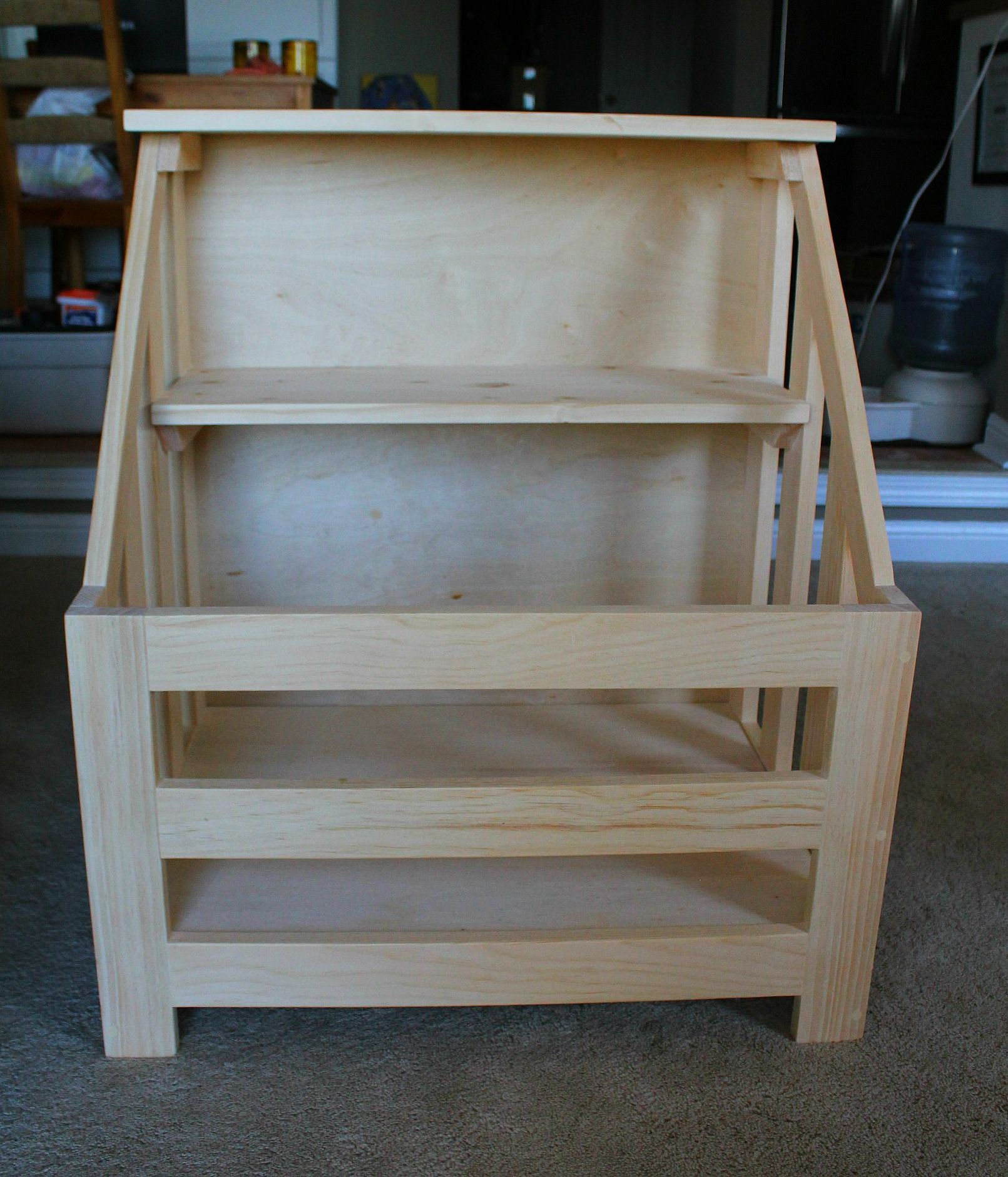Bookshelf Toybox Combo Diy Woodworking Projects Advanced Beginner Woodworking Projects Woodworking Project Design