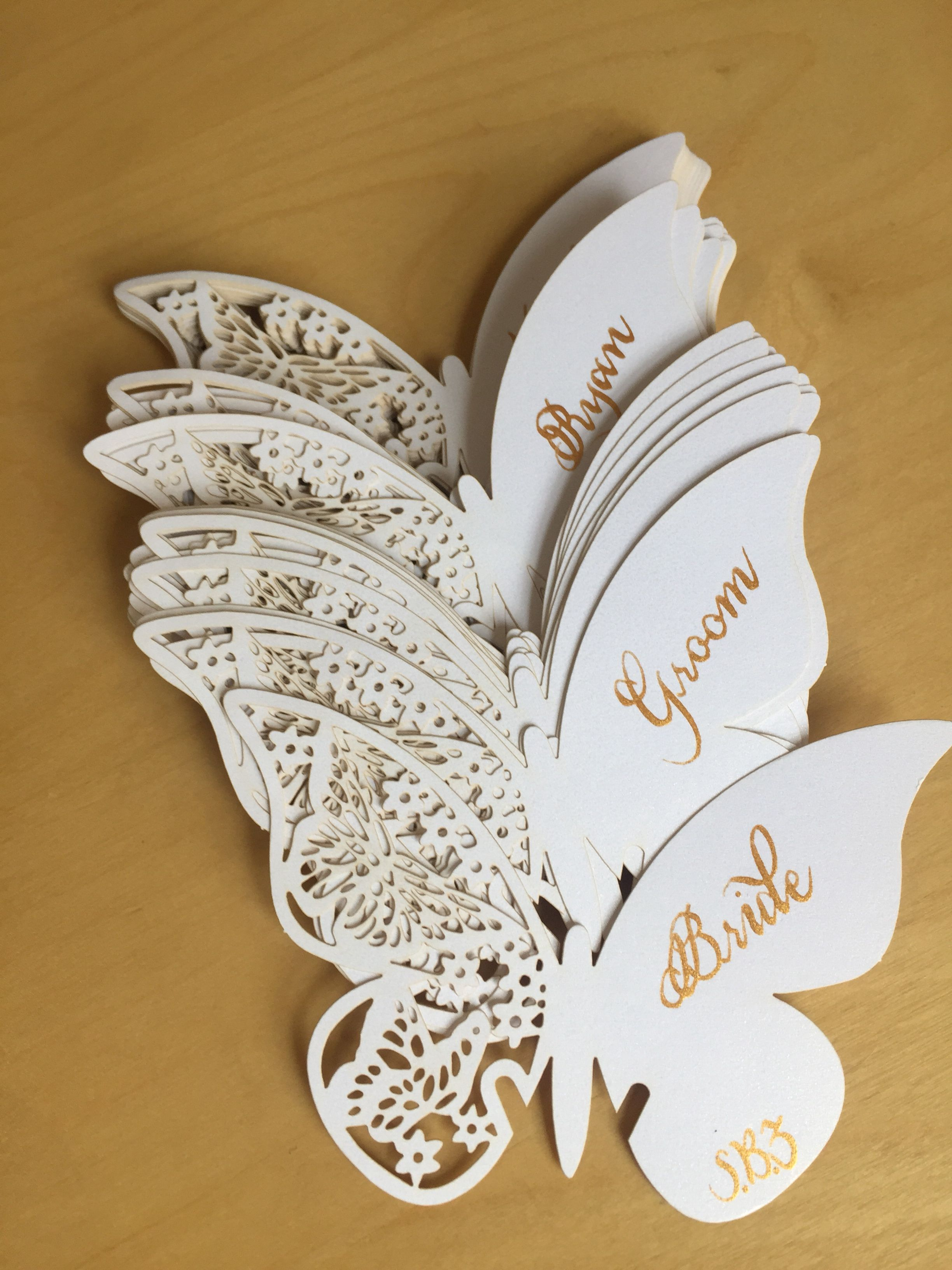 Pin on Wedding Calligraphy Place Cards