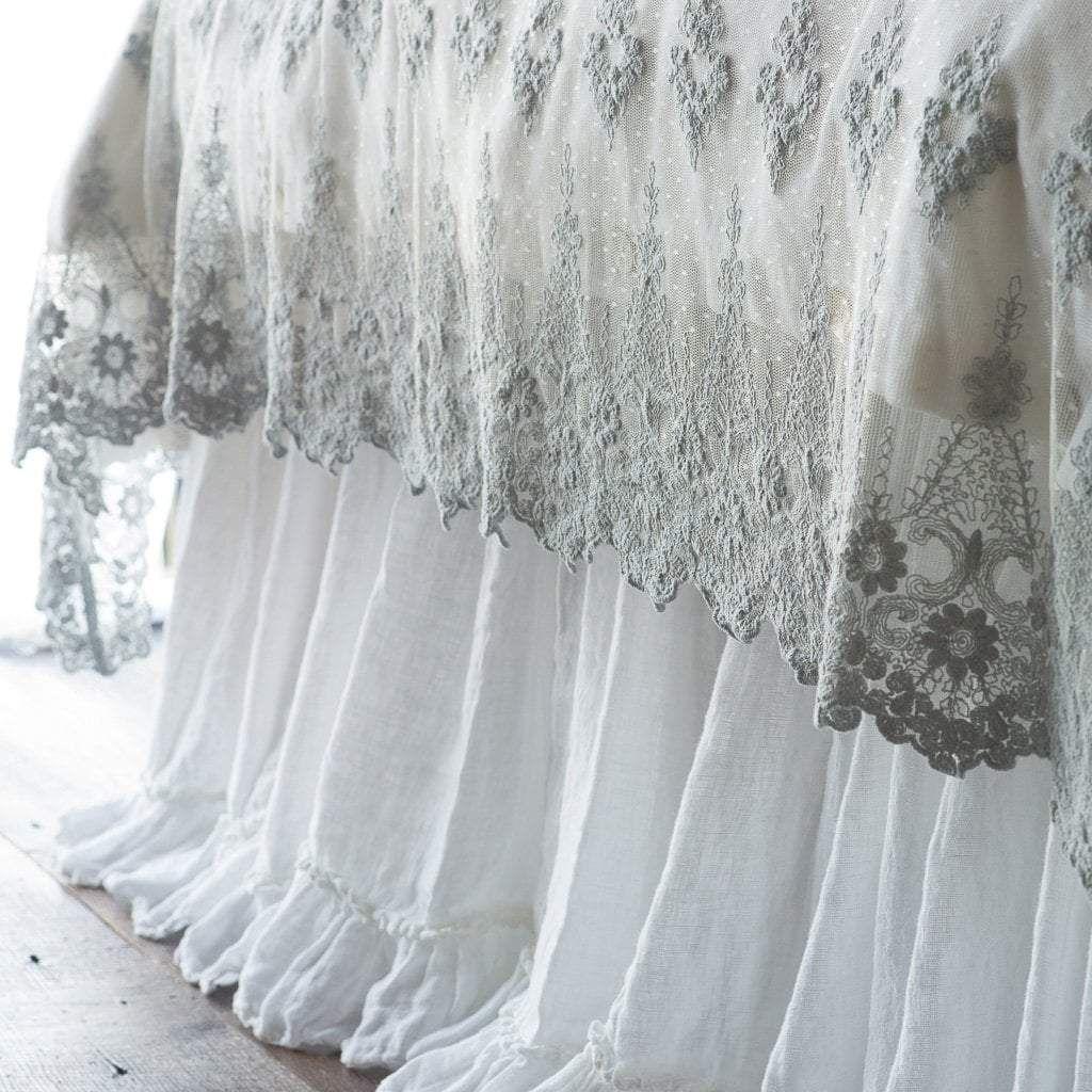 Photo of Linen Whisper Bed Skirt