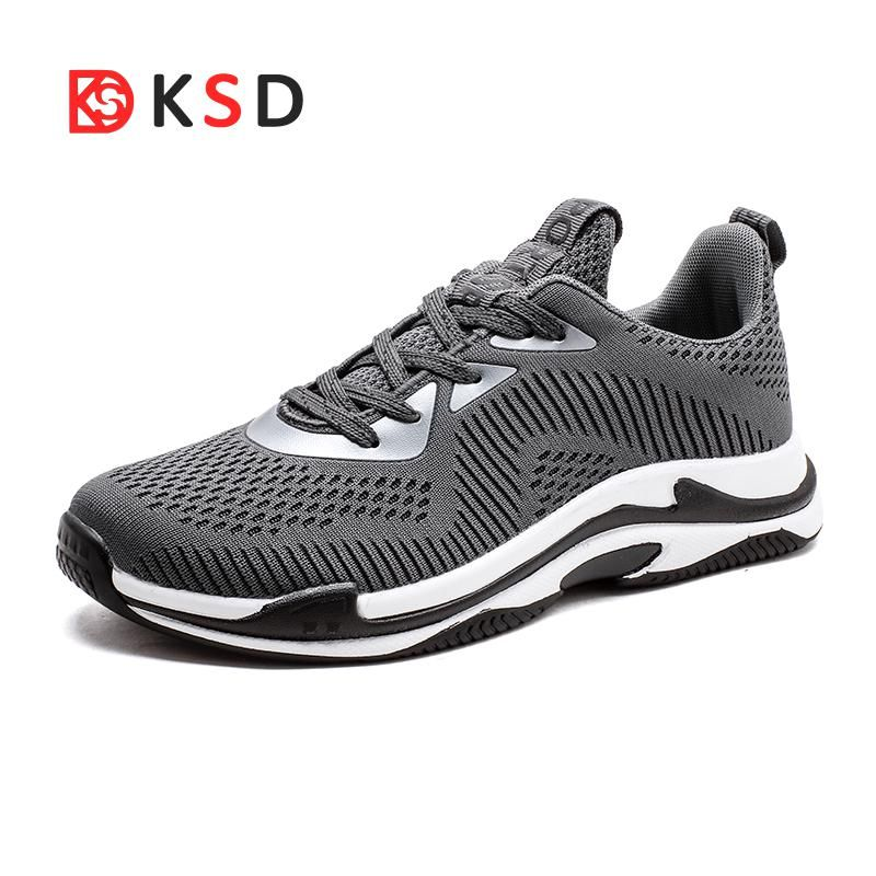 b4d91bbe0d921 Shoes Man Breathable Running Shoes For Men Sneakers Bounce Summer Outdoor  Sport Shoes Professional Training Shoes