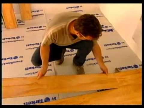 C mo instalar suelo laminado youtube bricolaje - Como instalar suelo laminado ...