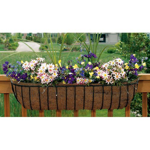Unique Flower Box Balcony Railing