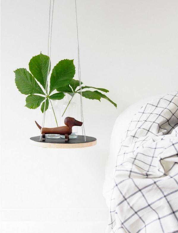 hanging shelf as a bedside table http://d3nslrukb9lhwg.cloudfront.net/wp-content/uploads/sites/6/2014/08/shelf.jpg