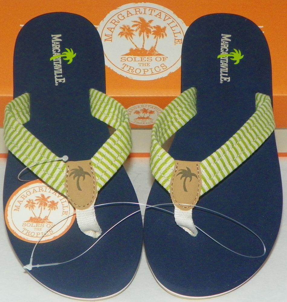 1bf09abd5db7 Women s Sz 7 Flip-Flops Sandals Margaritaville Lime Aruba Beach Classics   Margaritaville  FlipFlops