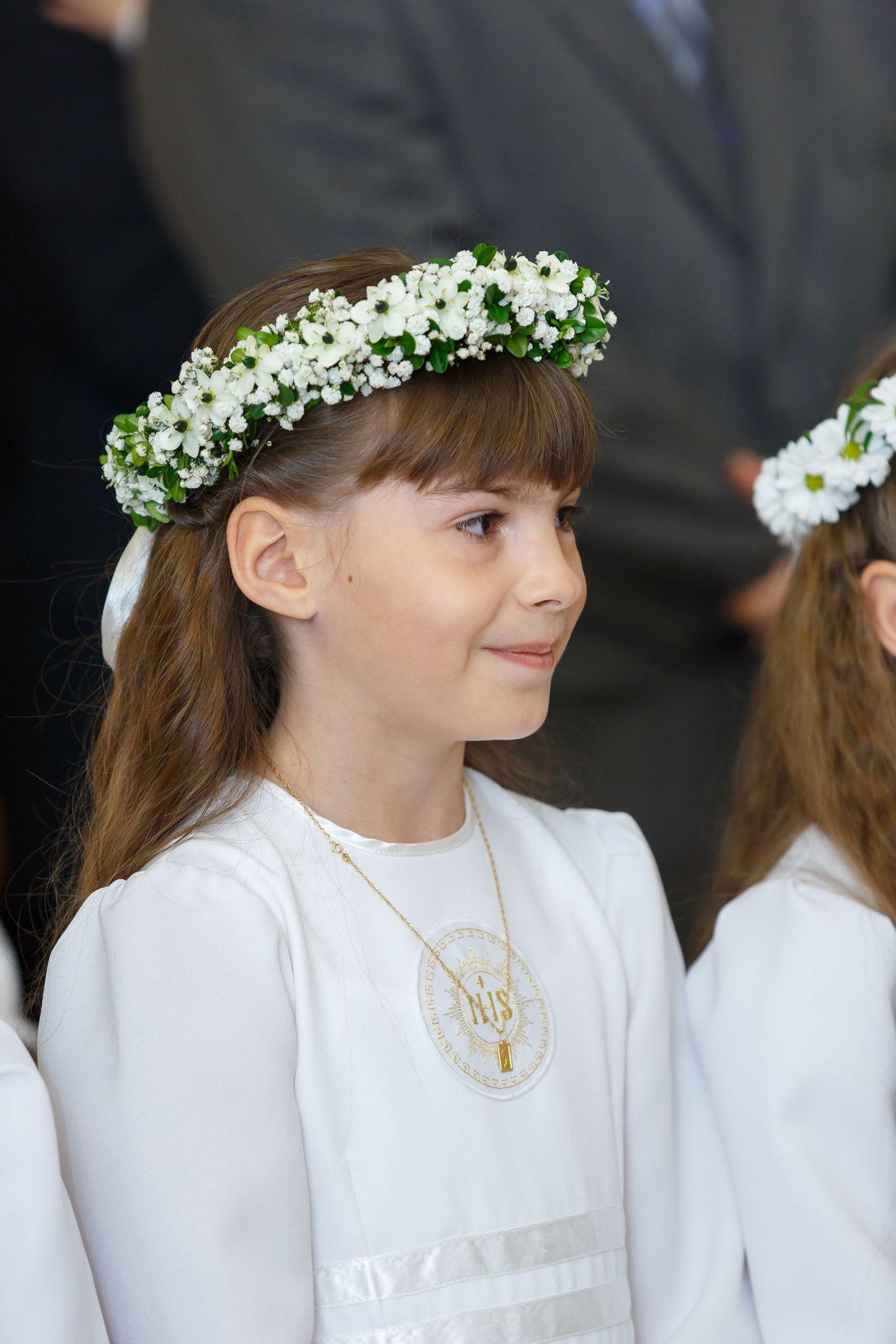 Wianuszek Komunijny 2 Florium Pl Hair Wreaths Crown