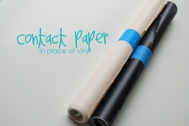 This is so cool. now I can make all kinds of stuff with my cricut and make it more decorative. Contact Paper in the cricut instead of vinyl