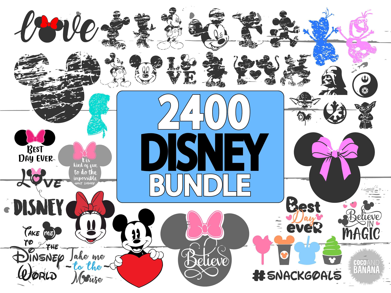 Disney SVG Bundle, Disney, Frozen, Disney Princess SVG
