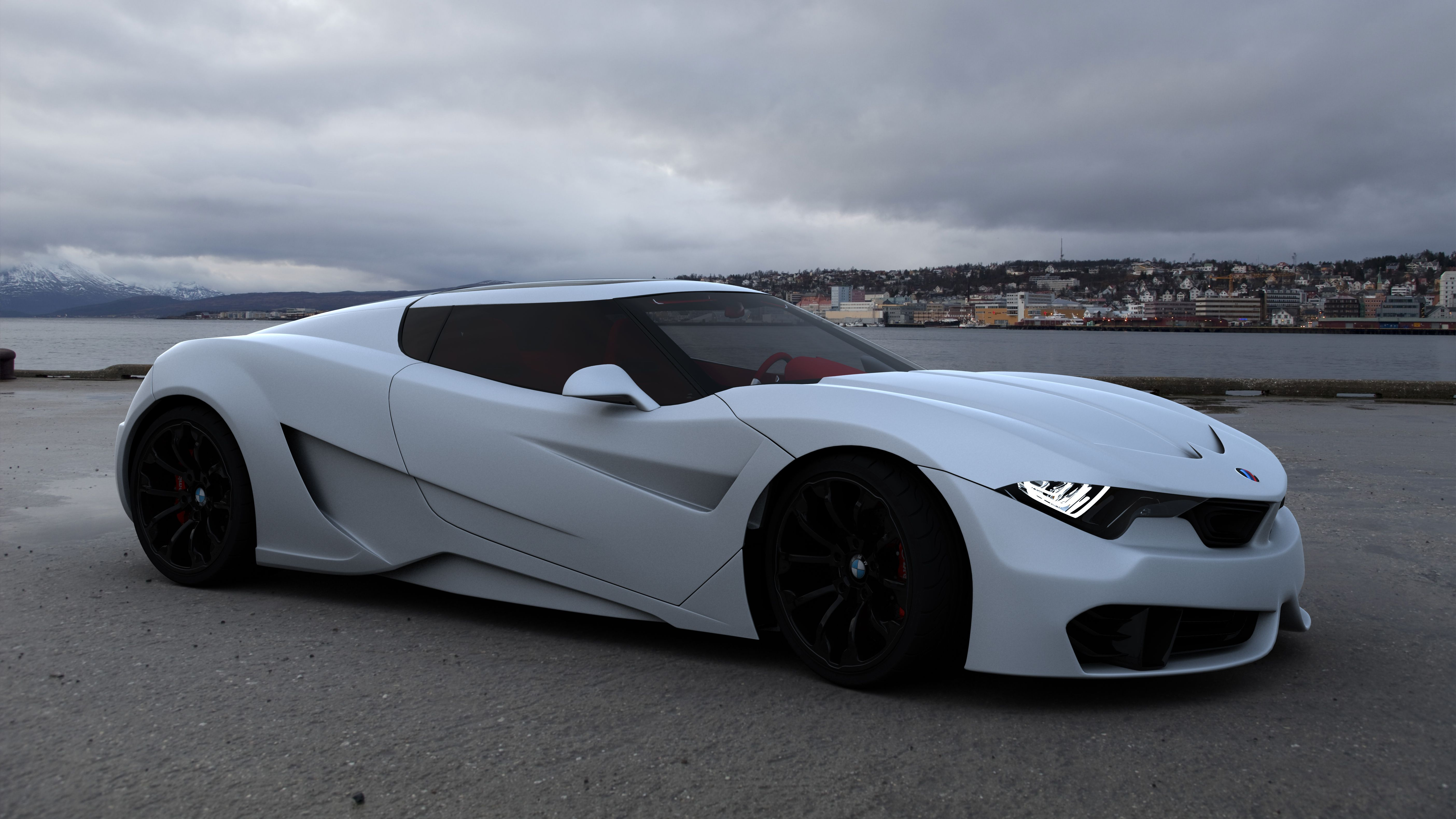BMW GT Concept revised version by Emil Baddal
