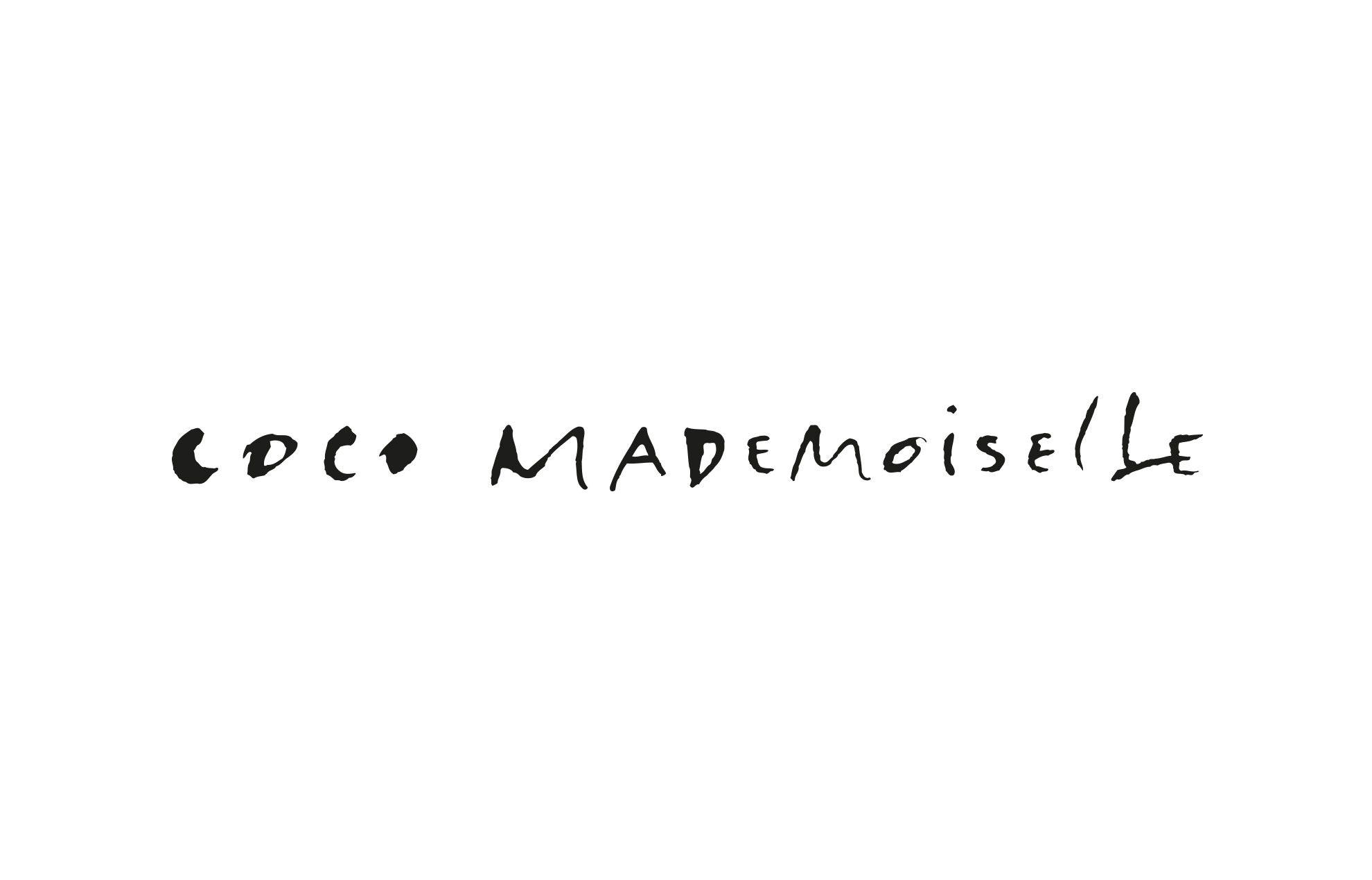 Coco Mademoiselle Chanel Fonts & branding Pinterest