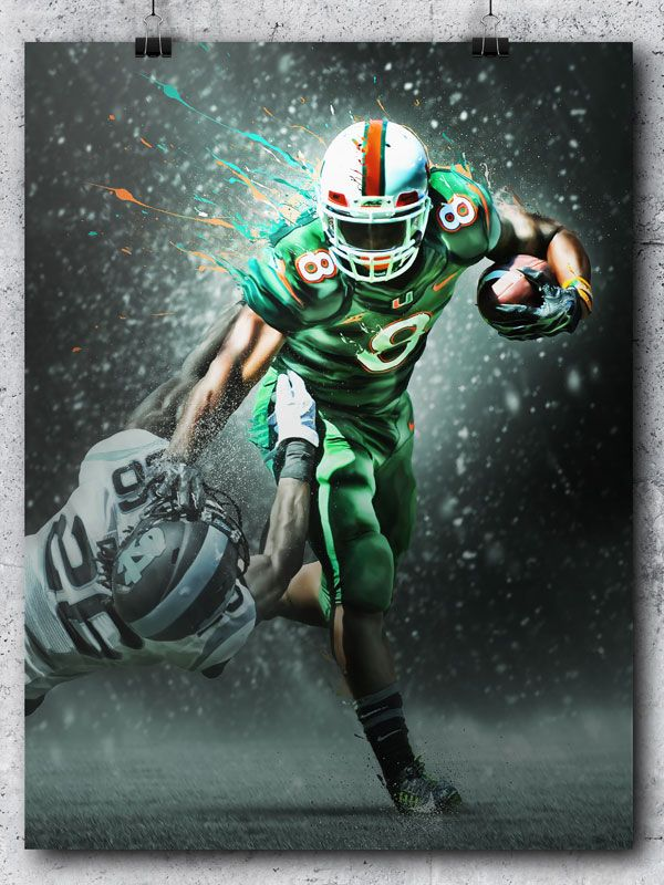 Partnered With The Team Caneshooterelite Com To Sport Art Miami Hurricanes Miami Hurricanes Apparel Miami Hurricanes Football