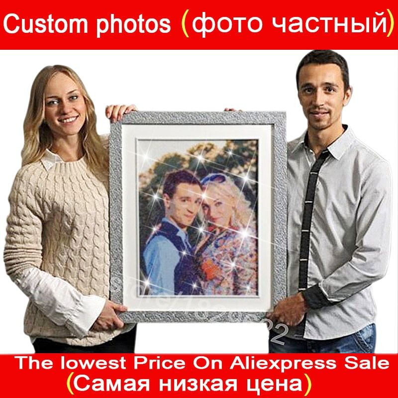 Private Photo Custom 5D DIY Diamond Painting Full Drill Make Your Own Embroidery