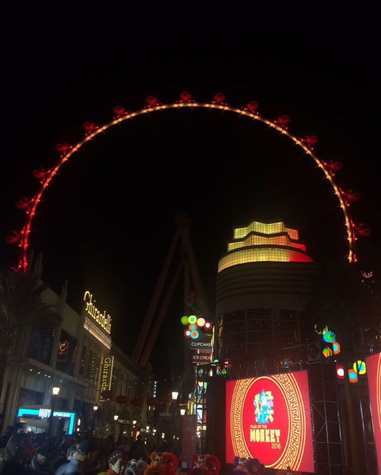 The Linq (With images) Las vegas, Commercial air