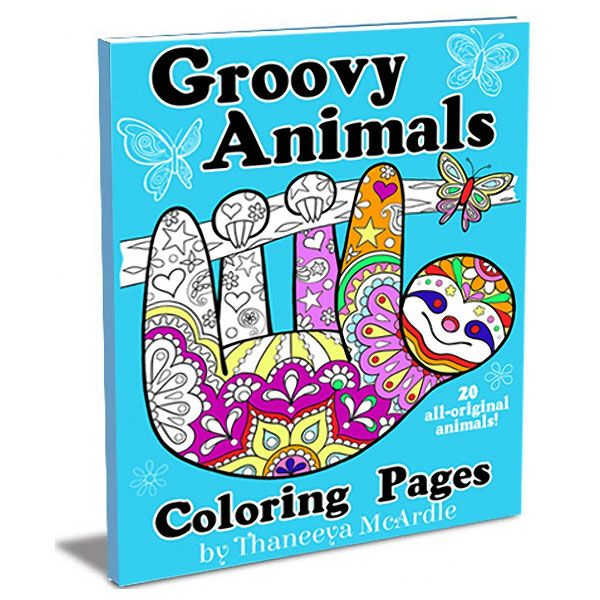 groovy animals coloring pages color my world abstract coloring pages coloring pages to. Black Bedroom Furniture Sets. Home Design Ideas