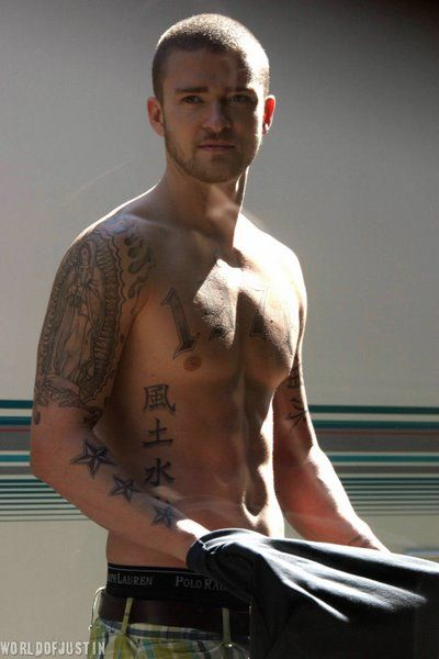 Justin Timberlake Don T Care For Him But With Tattoos Yum