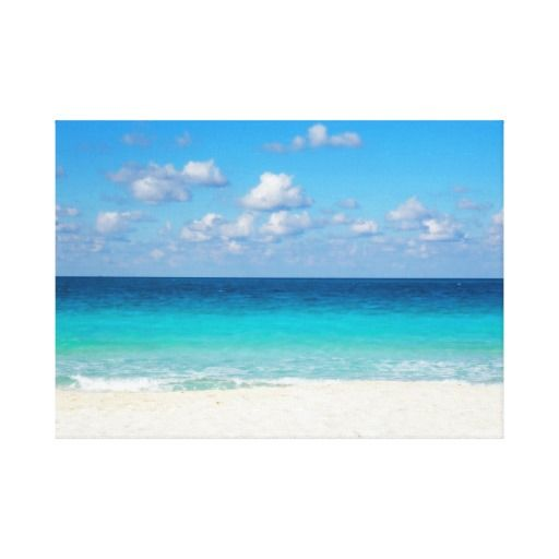 sea stretched canvas prints