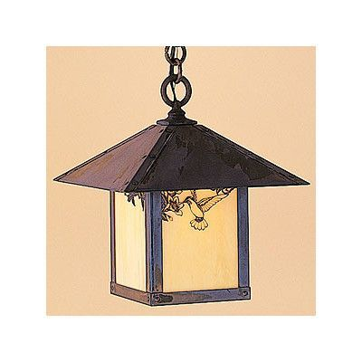 arroyo craftsman evergreen 1 light outdoor hanging lantern overlay tbar finish