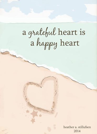 A Grateful Heart Is A Happy Heart Wallpaper Quotes Happy Quotes