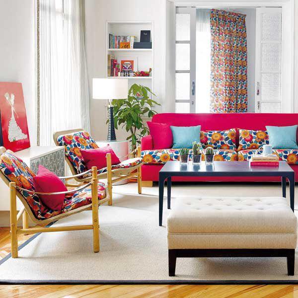 Inspirational Retro Living Room Decor