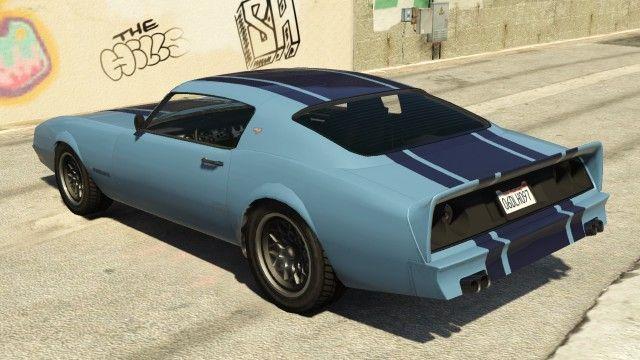 Imponte Phoenix GTA 5 Rear
