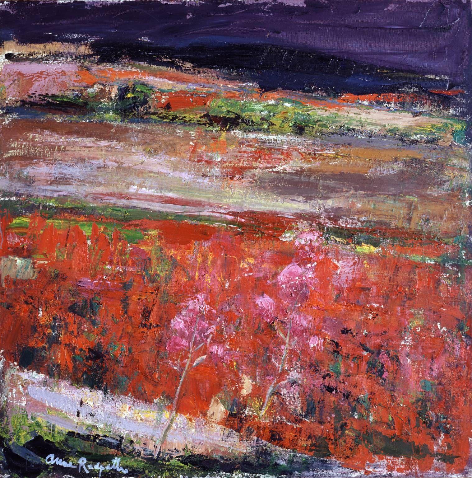 The Poppy Field Anne Redpath Tate Scottish Art Art Painting