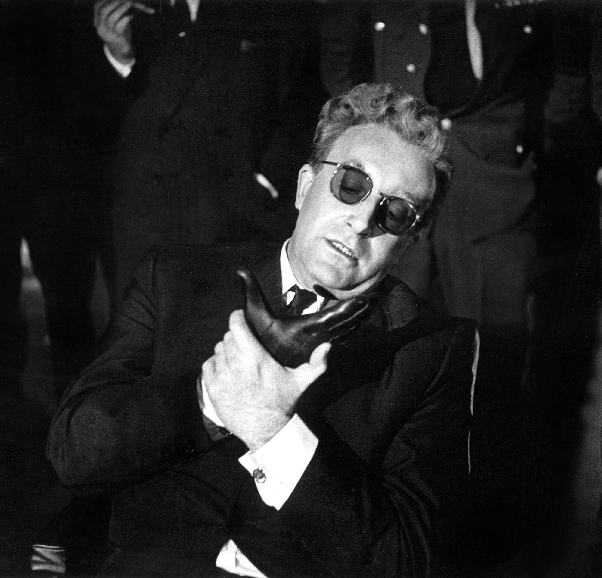 "Peter Sellers As Dr Strangelove In Dr Strangelove Or: ""Dr. Strangelove: Or How I Stop Worrying And Love The Bomb"