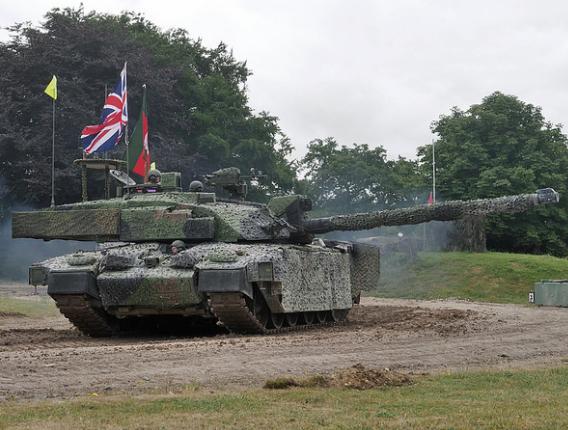 91332053b697 Challenger 2 TES - British Army MBT