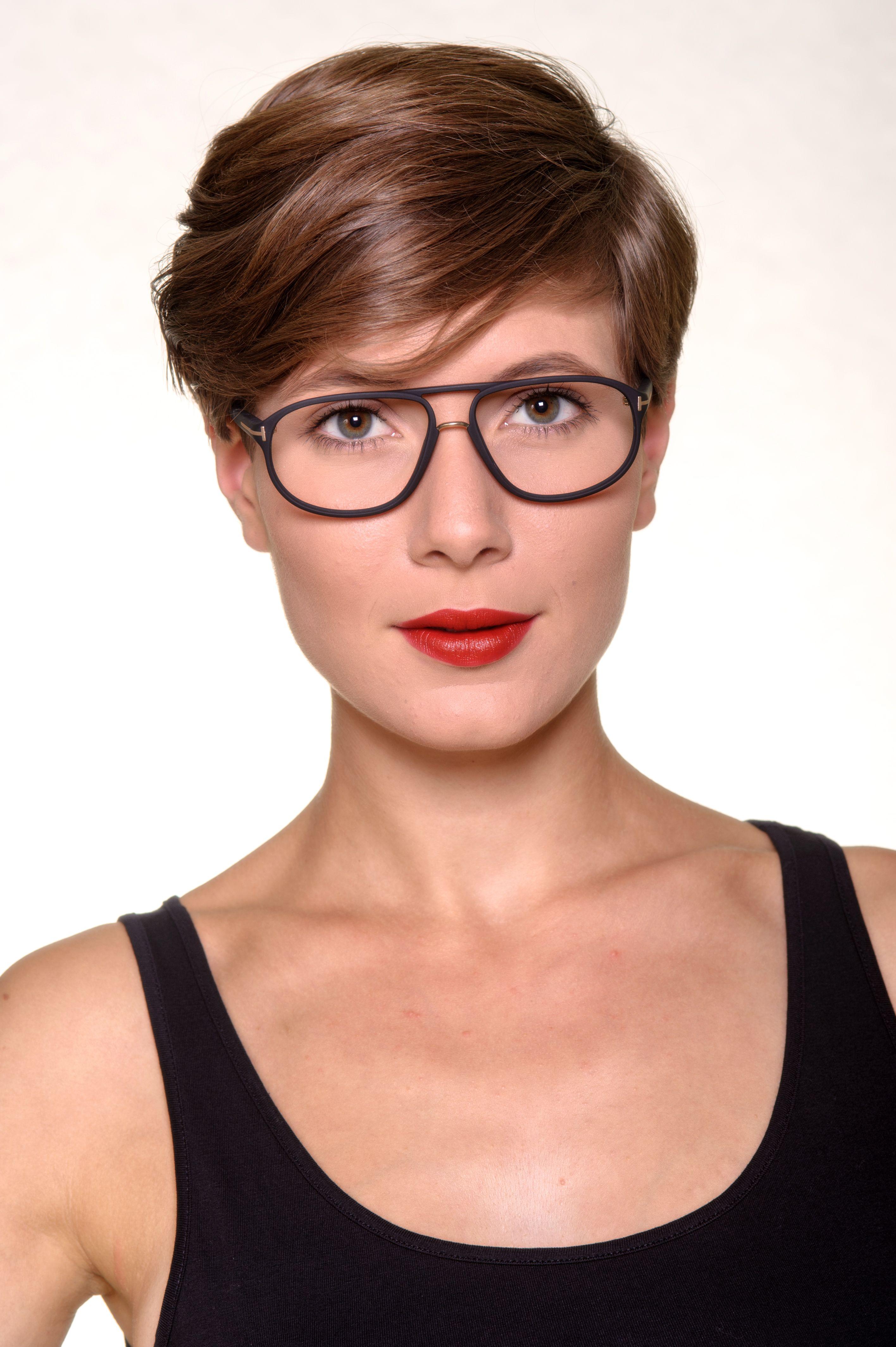 Tom Ford Designerbrille TF5296 002 Wo Brille zu Kunst wird
