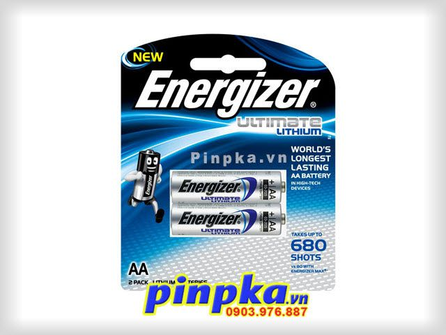 Pin tiểu AA Energizer Ultimate L91 BP-2 - Hotline: 0903976887 (Ms.Lan Anh) - Email: phongkimanh8@gmail.com - Yahoo: pinpka