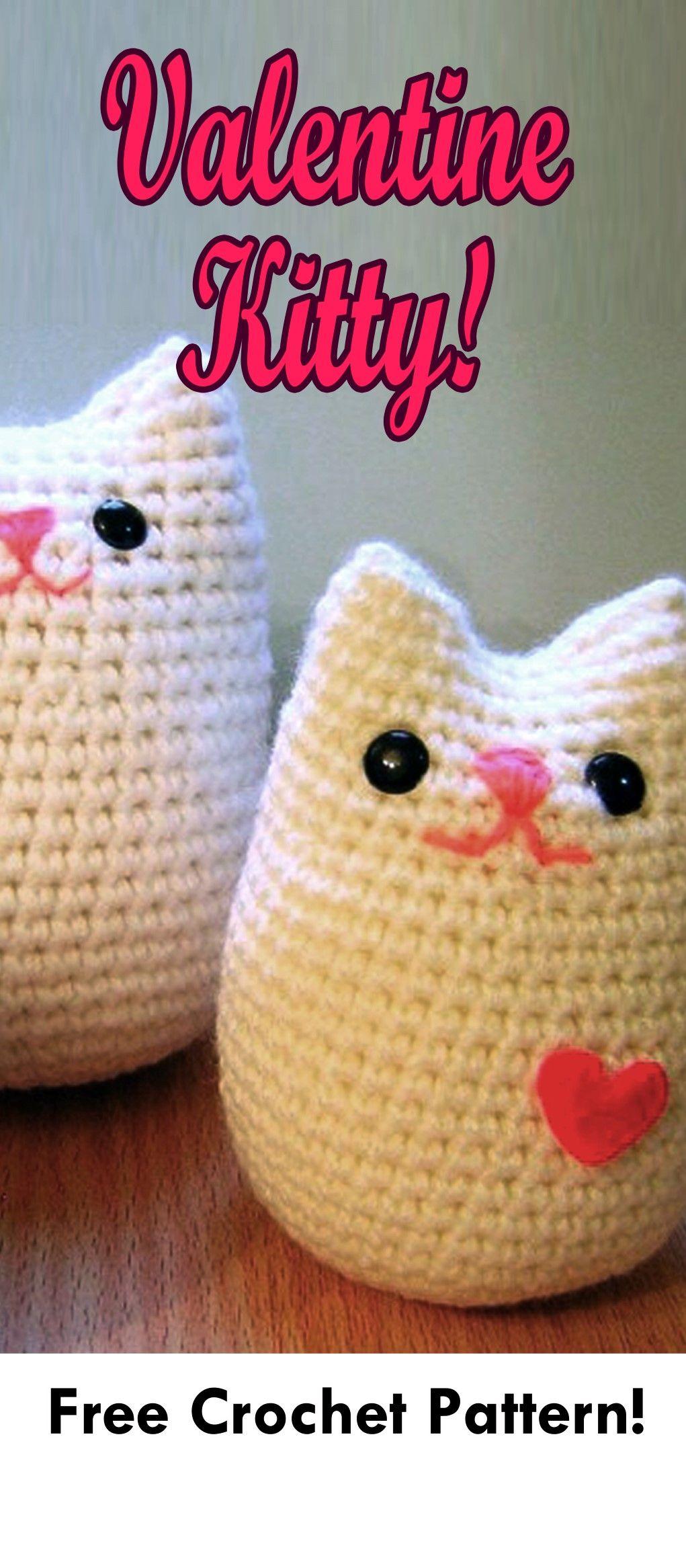 Valentines Animals Heart Crochets Pinterest Amigurumi