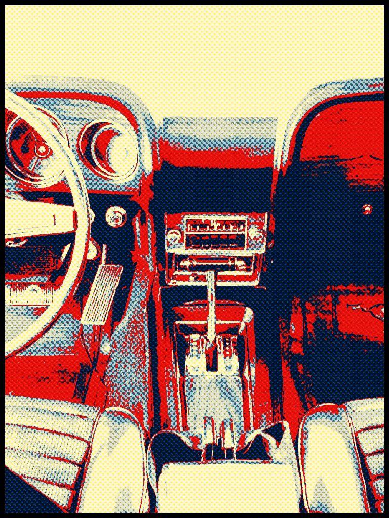1969 Ford Mach 1 interior